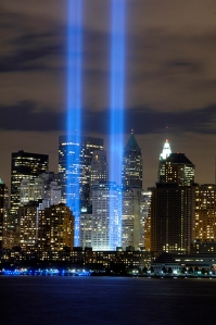 9-11 Tribute In Light Memorial
